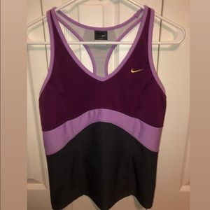 Nike Workout Top w/ Built in Bra
